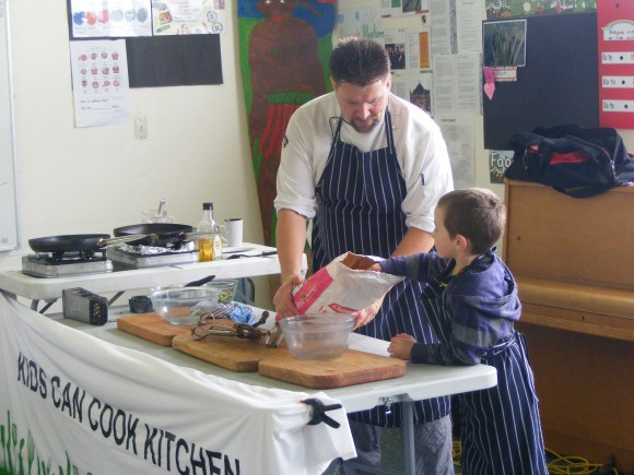 Can kids cook?